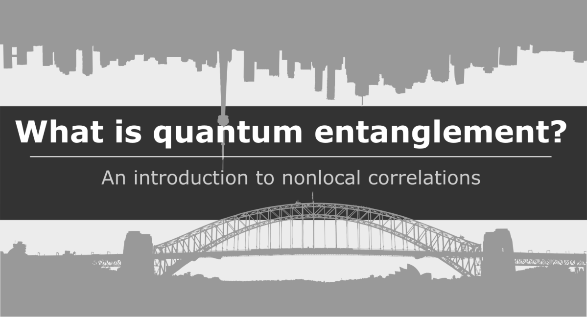 Quantum Entanglement for Toddlers